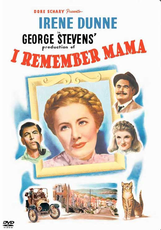 i remember mama movie posters from movie poster shop. Black Bedroom Furniture Sets. Home Design Ideas