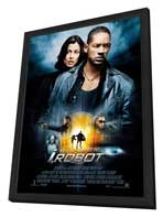I, Robot - 27 x 40 Movie Poster - Style E - in Deluxe Wood Frame