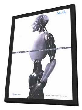 I, Robot - 27 x 40 Movie Poster - Style A - in Deluxe Wood Frame