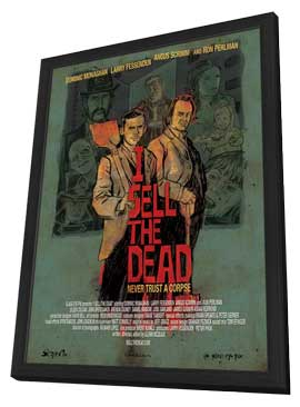 I Sell the Dead - 11 x 17 Movie Poster - Style A - in Deluxe Wood Frame