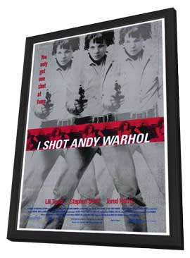 I Shot Andy Warhol - 27 x 40 Movie Poster - Style A - in Deluxe Wood Frame
