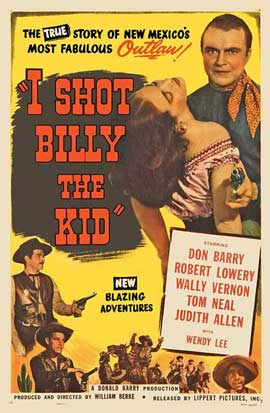 I Shot Billy the Kid - 27 x 40 Movie Poster - Style A