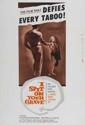I Spit on Your Grave - 27 x 40 Movie Poster - Style A