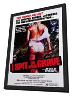 I Spit on Your Grave - 11 x 17 Movie Poster - Style A - in Deluxe Wood Frame