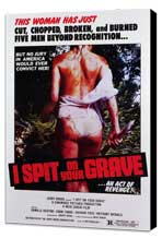 I Spit on Your Grave - 27 x 40 Movie Poster - Style A - Museum Wrapped Canvas