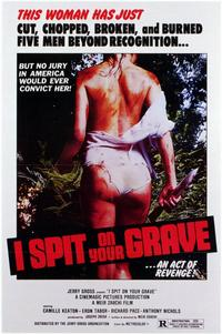 I Spit on Your Grave - 11 x 17 Movie Poster - Style A - Museum Wrapped Canvas