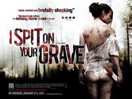I Spit on Your Grave - 27 x 40 Movie Poster - UK Style B