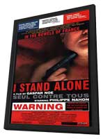 I Stand Alone - 11 x 17 Movie Poster - Style A - in Deluxe Wood Frame
