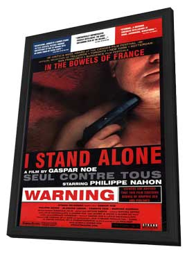 I Stand Alone - 27 x 40 Movie Poster - Style A - in Deluxe Wood Frame