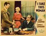 I Take This Woman - 11 x 14 Movie Poster - Style D