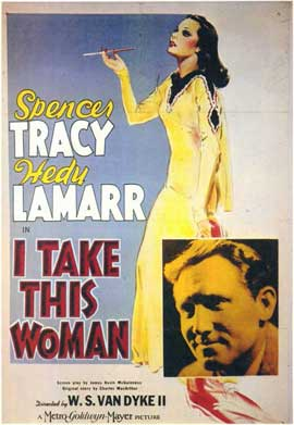 I Take This Woman - 11 x 17 Movie Poster - Style A