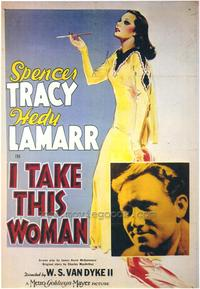 I Take This Woman - 43 x 62 Movie Poster - Bus Shelter Style A