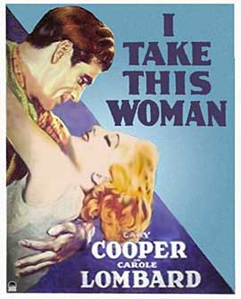 I Take This Woman - 11 x 17 Movie Poster - Style B