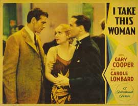 I Take This Woman - 11 x 14 Movie Poster - Style C
