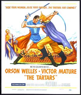 I tartari - 27 x 40 Movie Poster - Style A