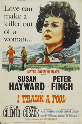 I Thank a Fool - 11 x 17 Movie Poster - Style B