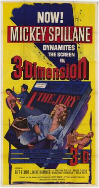 I, The Jury - 14 x 36 Movie Poster - Insert Style A