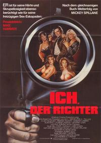 I, the Jury - 27 x 40 Movie Poster - German Style A
