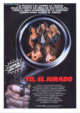 I, the Jury - 27 x 40 Movie Poster - Spanish Style A