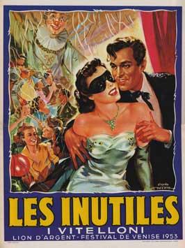 I vitelloni - 27 x 40 Movie Poster - Belgian Style A
