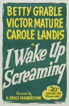 I Wake Up Screaming - 11 x 17 Movie Poster - Style A