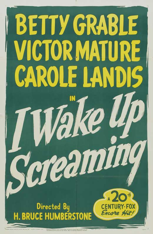 i wake up screaming movie posters from movie poster shop