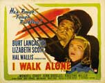 I Walk Alone - 27 x 40 Movie Poster - UK Style C