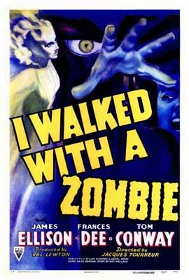I Walked with a Zombie - 27 x 40 Movie Poster - Style A