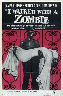I Walked with a Zombie - 27 x 40 Movie Poster - Style B