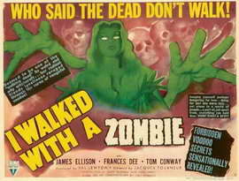 I Walked with a Zombie - 11 x 17 Movie Poster - Style C