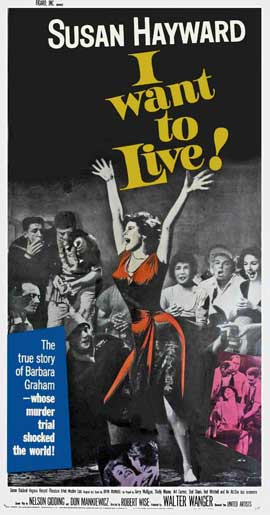 I Want to Live! - 11 x 17 Movie Poster - Style B