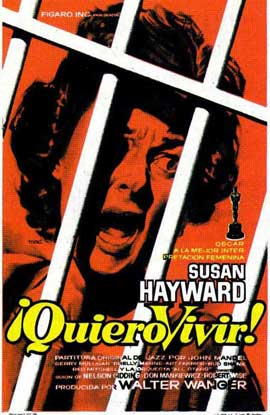 I Want to Live! - 11 x 17 Movie Poster - Spanish Style A