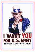 I Want You for U.S. Army - 27 x 40 Movie Poster - Style A