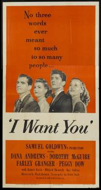 I Want You - 11 x 17 Movie Poster - Style A
