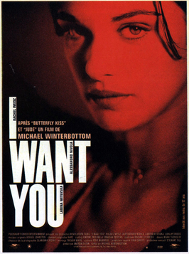 I Want You - 11 x 17 Movie Poster - French Style A