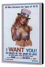 I want you! To enlist in the army of love - 11 x 17 Movie Poster - Style A - Museum Wrapped Canvas