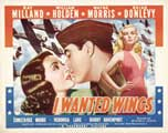 I Wanted Wings - 11 x 14 Movie Poster - Style C