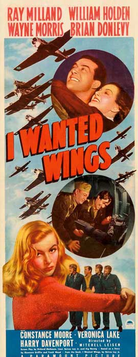 I Wanted Wings - 14 x 36 Movie Poster - Insert Style A