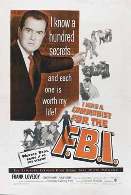 I Was a Communist for the FBI - 11 x 17 Movie Poster - Style A