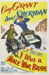 I Was a Male War Bride - 11 x 17 Movie Poster - Style B