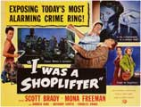 I Was a Shoplifter - 11 x 14 Movie Poster - Style A