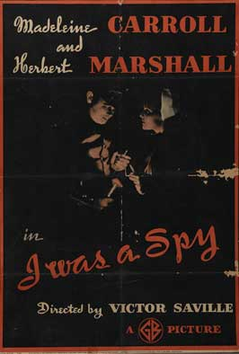 I Was a Spy - 11 x 17 Movie Poster - UK Style A
