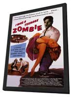 I Was a Teenage Zombie - 11 x 17 Movie Poster - Style A - in Deluxe Wood Frame