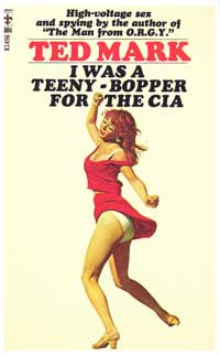 I Was a Teeny-Bopper for the C.I.A - 11 x 17 Retro Book Cover Poster