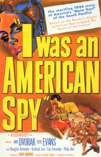 I Was an American Spy - 43 x 62 Movie Poster - Bus Shelter Style A