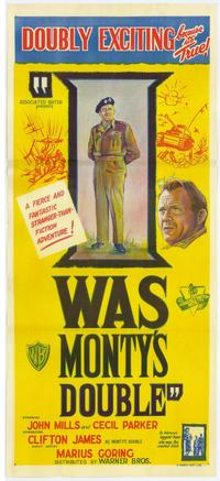 I Was Monty's Double - 27 x 40 Movie Poster - Australian Style A