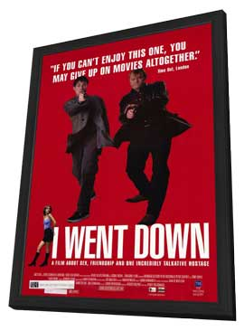 I Went Down - 11 x 17 Movie Poster - Style A - in Deluxe Wood Frame