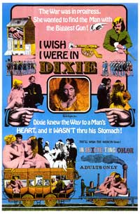 I Wish I Were in Dixie - 11 x 17 Movie Poster - Style A