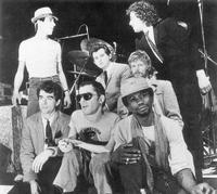 Ian Dury and  the Blockheads - 8 x 10 B&W Photo #1