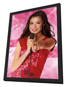 iCarly (TV) - 27 x 40 TV Poster - Style D - in Deluxe Wood Frame